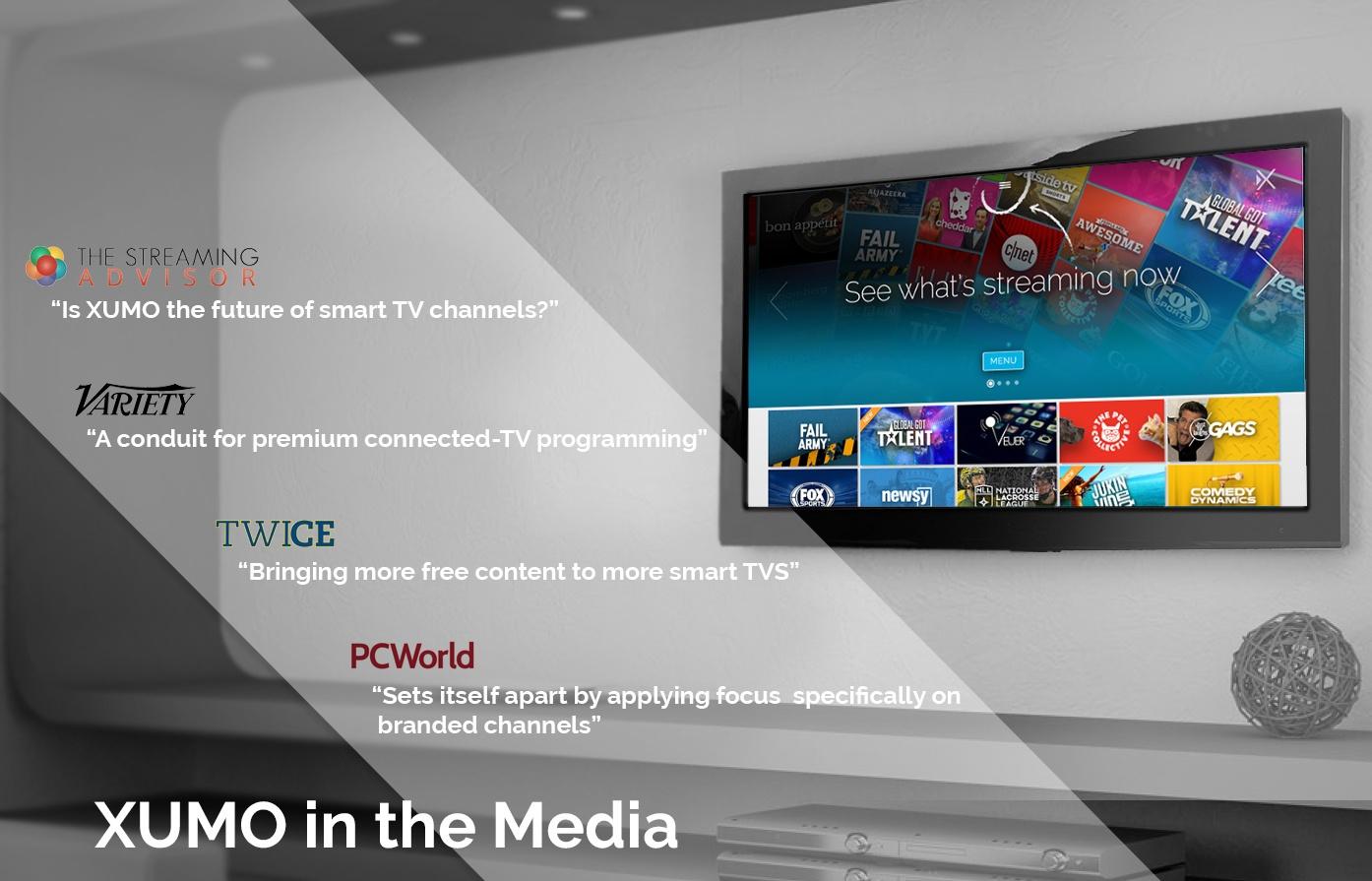 XUMO in the Media
