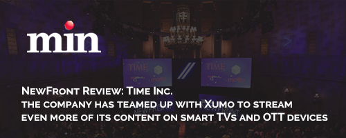 the company has teamed up with Xumo to stream even more of its content on smart TVs and OTT devices.