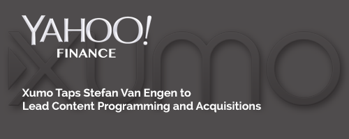 Xumo Taps Stefan Van Engen to Lead Content Programming and Acquisitions