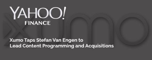 Xumo Taps Stefan Van Engen to Lead Content Programming and Acquisitions
